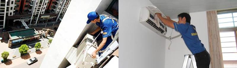 上海炜拓净化工程发展有限公司 空调安装  补充制冷剂 在空调移机中